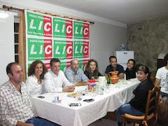 LIC reunida na Sede de Campanha