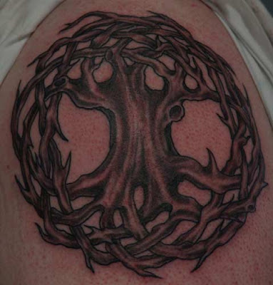 Size:400x300 - 19k: Celtic Tree of Life Tattoo