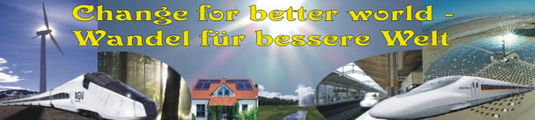 Change for better world - Wandel für bessere Welt
