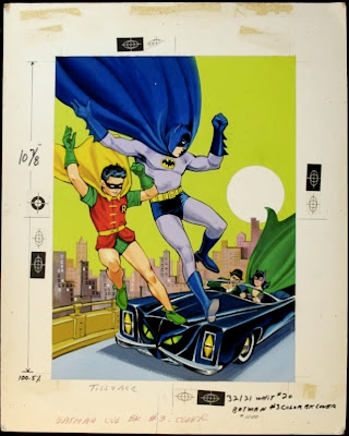art for the 1967 batman