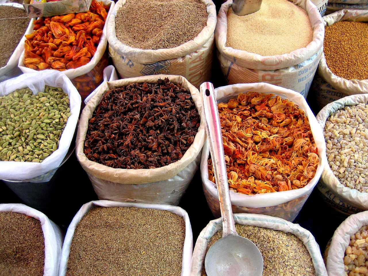 Marxist spice trade from india for 7 spices asian cuisine