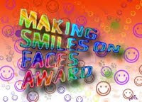 Making smiles on faces award