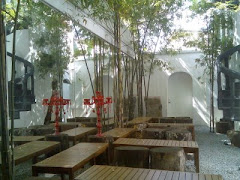 Alfresco courtyard by day