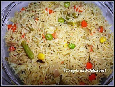 Vegetable biryani kerala style simple and delicious vegetable biryani kerala style forumfinder Images