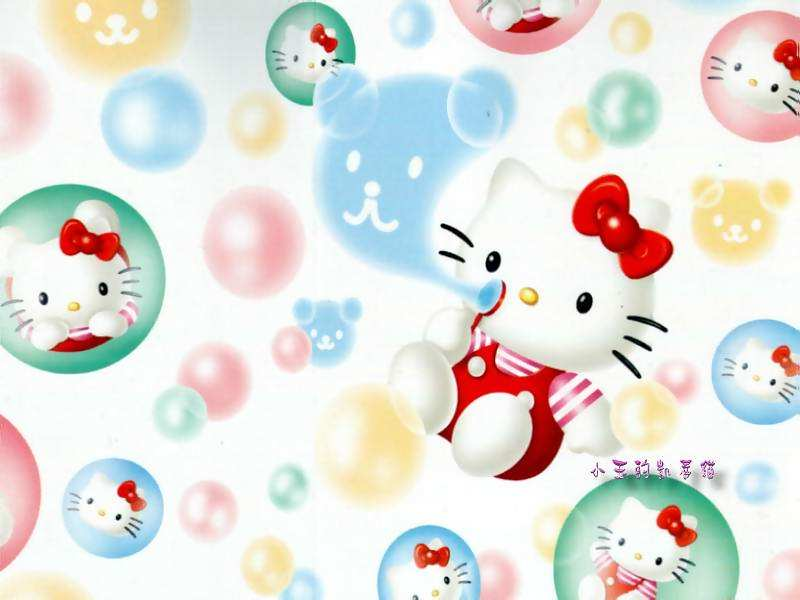 hello kitty 2010 wallpaper. cute hello kitty wallpaper
