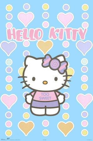 hello kitty cartoon. Label: Hello Kitty Cartoon
