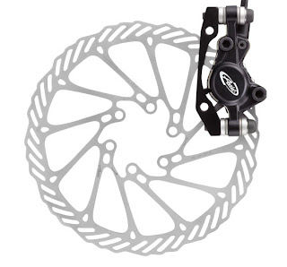 Avid's Juicy 3.5 disc brake!