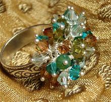 Gorgeous jewelry handmade by Iris Perry.
