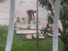 Arreglo banquito parque Bloque1