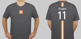 blogger tee shirt