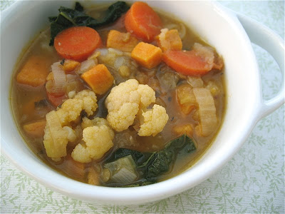 Albion Cooks: Winter Vegetable Soup