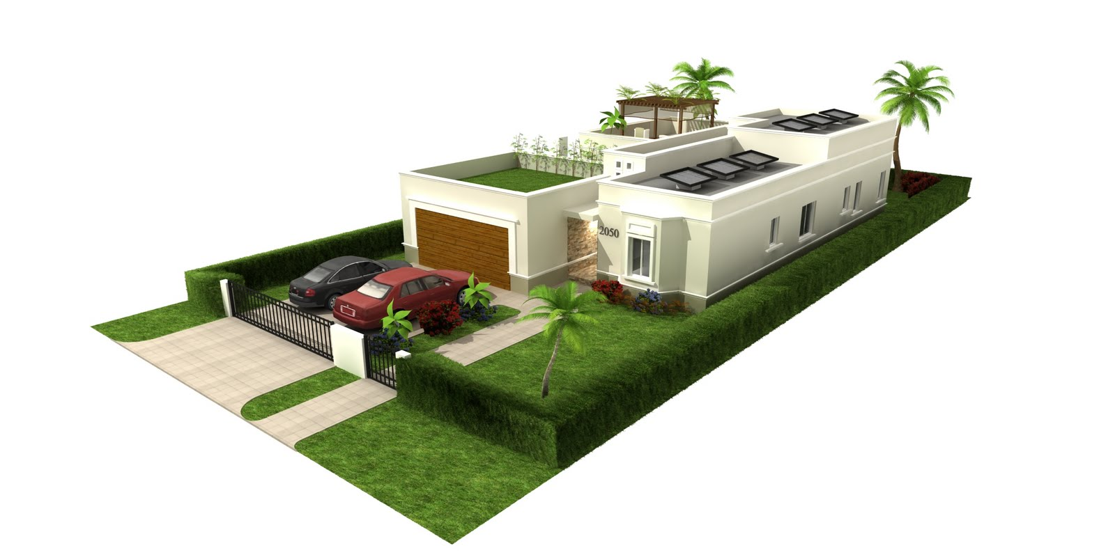 Green Smart Homes Technology