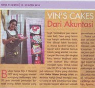 Vin's Cakes on Tabloid Nova