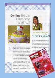 Vin's Cakes on Bakery Indonesia Magazine