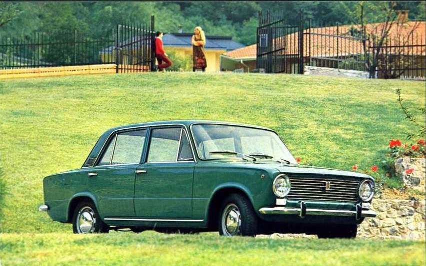 1966 Fiat 124 Familiare. presso il registro Fiat sono
