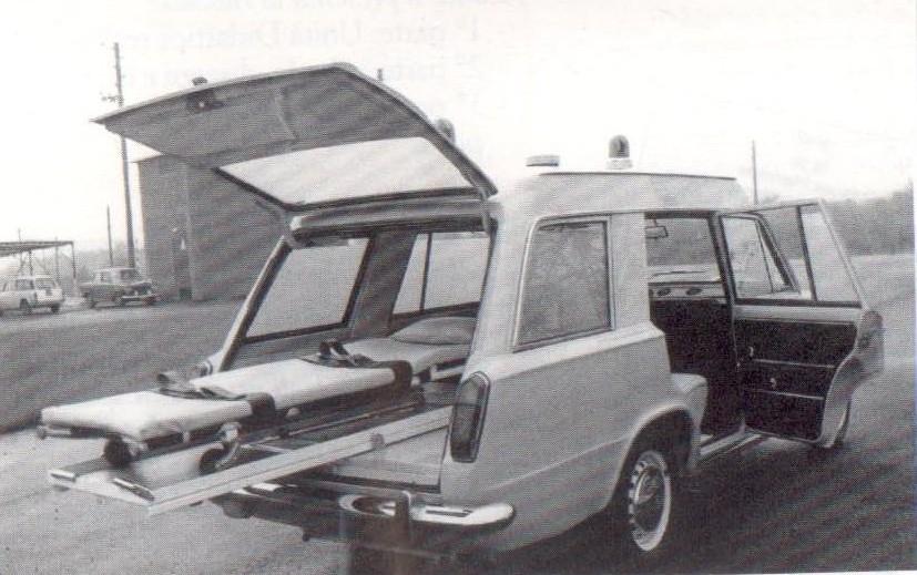 1966 Fiat 124 Familiare. La Fiat 124: LA 124 DA