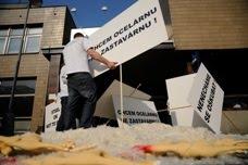 protest v Ostravě / protest in Ostrava (fotky / photos)