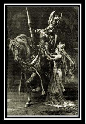 dibujo caballero rey arturo: