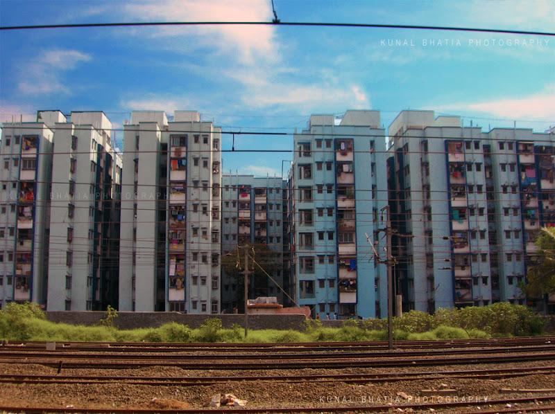 inhuman crowded social housing redevelopment slum in mumbai by kunal bhatia