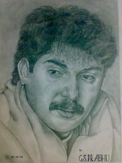Actor Portraits II Arvind samy Hero Blooywood Kollywood Drawing Pencil Skeching artworks Tamil actor Picture Images people popular faces