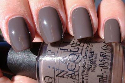 Beautiful Grey Opi Nail Polish