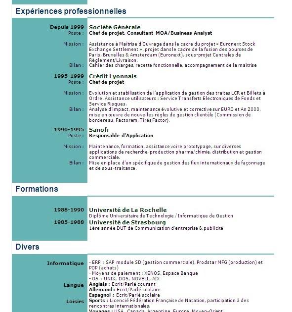 modele curriculum vitae lettre de motivation gratuit  t u00e9l u00e9charger modele cv n14