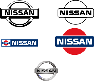 Nissan on Vector Nissan Logos