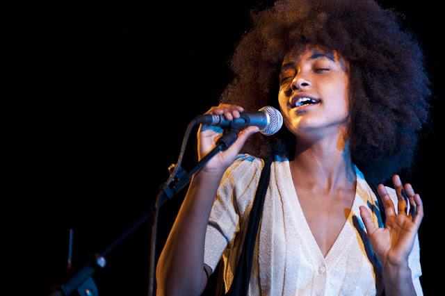 Esperanza Spalding - Jazz en la Costa - Parque El Majuelo (Almuñécar) - 21/7/2009
