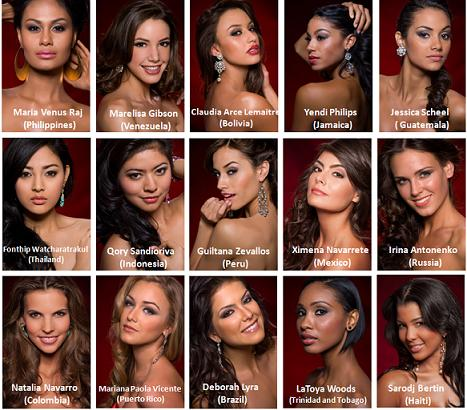 Vianne Miss Universe 2010 Top 15 Candidates Online Voting
