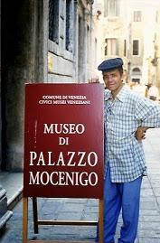 Jeovah Santos visita o Museo di Palazzo Micenigo em Veneza, Itália