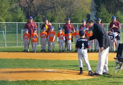 Hillsborough Baseball League Opening Day 2008