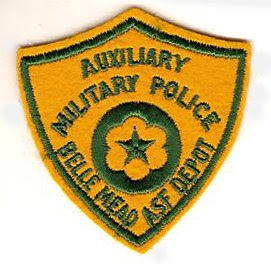 Belle Mead GSA Depot Military Police Patch