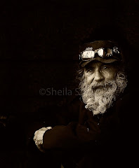 Homeless man with sunnies