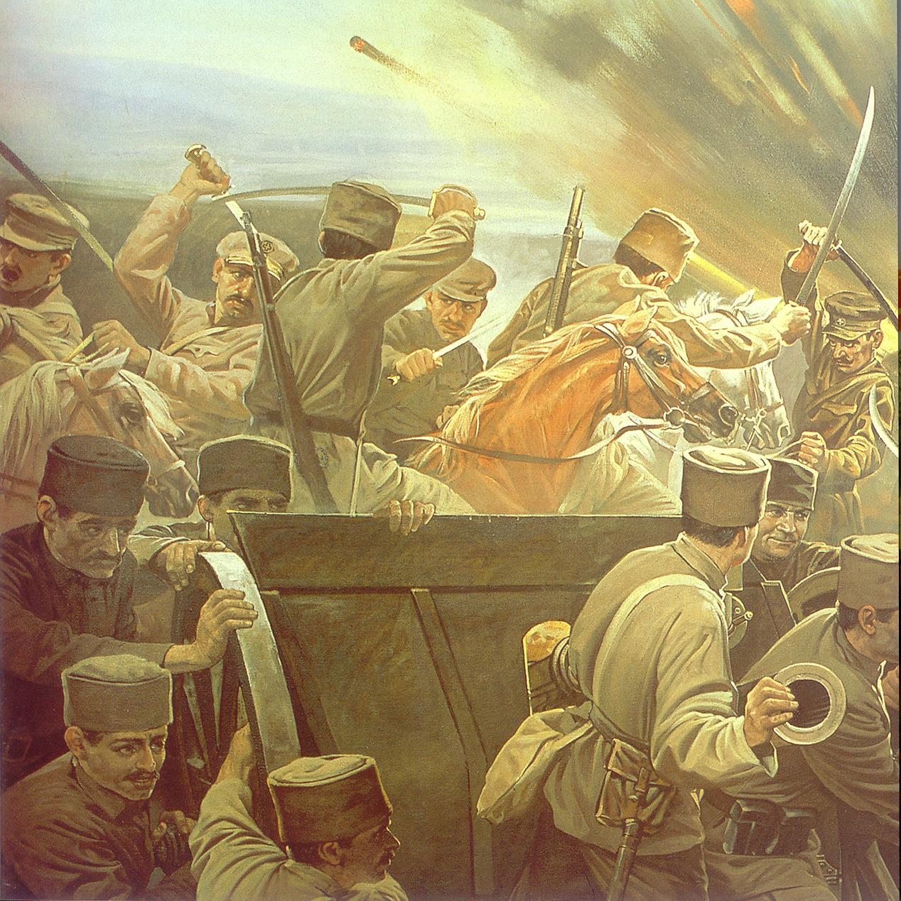 Kurtuluş Savaşı çizimleri