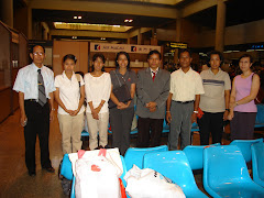 YAU rector and students in Thailand