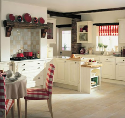 collection of country kitchen decor