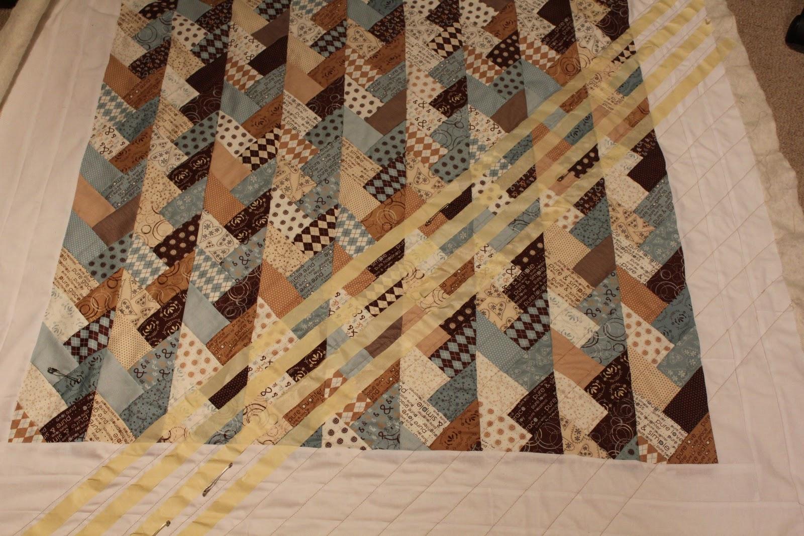Handmadeforhome Friendship Braid Quilt Update