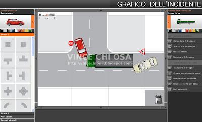 Disegna online il grafico del tuo incidente stradale con for Disegna i progetti online gratuitamente