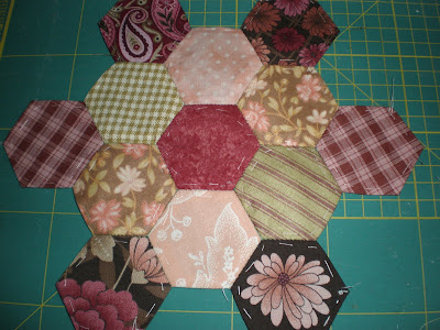 PATCHWORKPASSION: TUTORIAL AFILETERO HEXÁGONOS