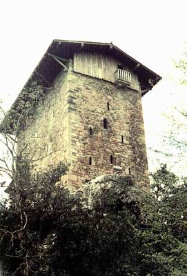 Casa torre de Etxaburu (fotografía de Txemi Ciria Uriarte)