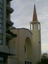 Una de las iglesias de Tánger. Marruecos