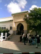 Puerta de una mezquita en Tetuán.