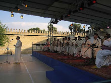 Orquesta de Malhún marroquí.