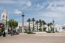 Plaza del Mechuar Al-Saíd en Tetuán.