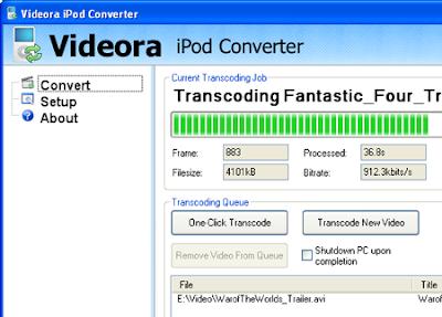 Videora iPod Converter<br />