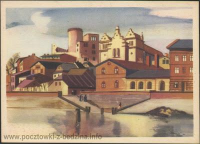 Stary Będzin - 1955