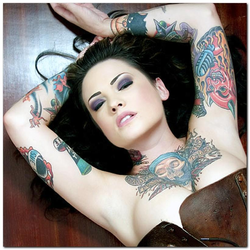 tatouage dragon (remplissage couleur)