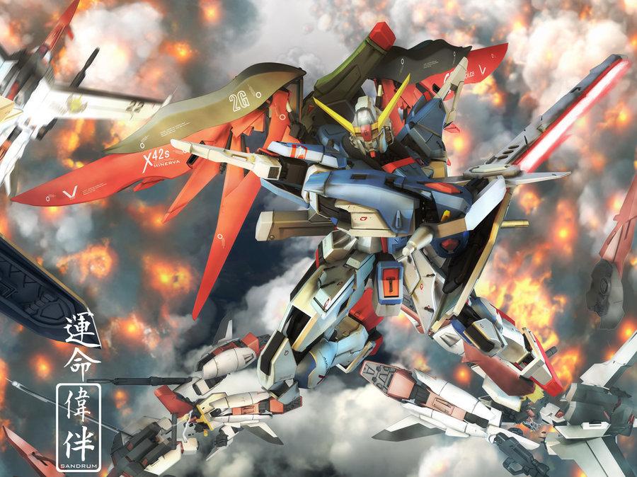 gundam wing wallpaper. GUNDAM WALLPAPERS for my