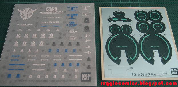 Close 00 raiser (pg) (gundam model kits) contents12