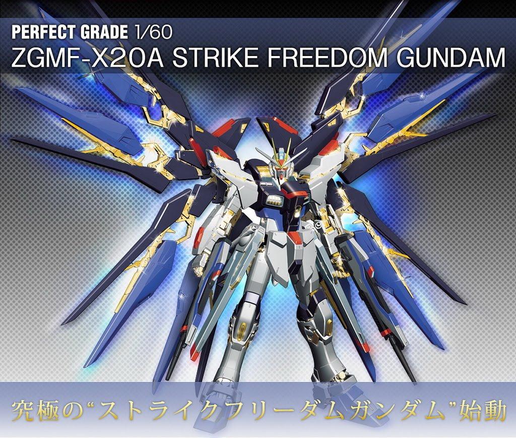 guNjap: PG 1/60 ZGMF-X20A Strike Freedom Gundam Hi Res ...